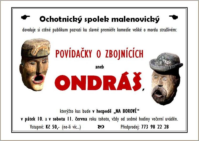 Ondráš-premiéra